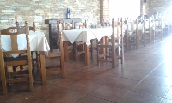 Alburquerque, España: The dining room