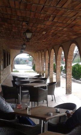 Alburquerque, España: The patio