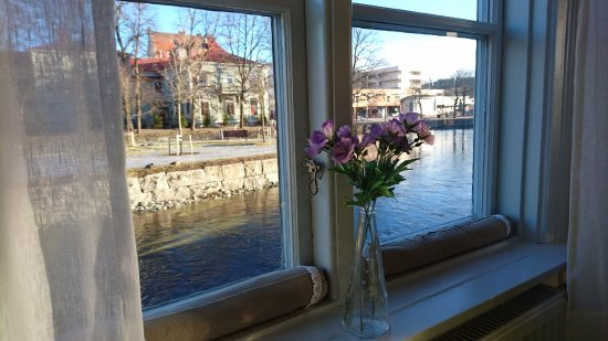 Filipstad, Sverige: View from the dinning room.