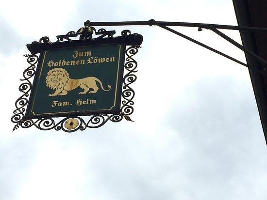 Guttersbach, Γερμανία: Zum Goldenen Lowen