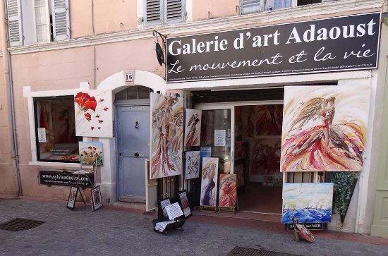 Galerie d'art Sylvie Adaoust de Sanary sur mer