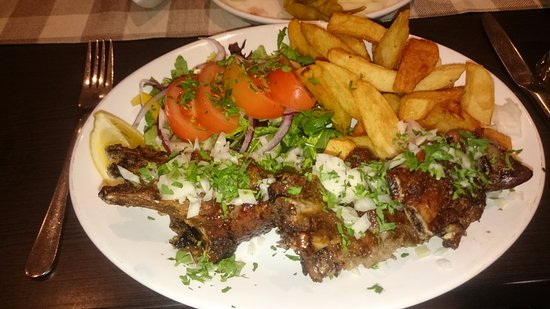 Potters Bar, UK: Lamb Souvla