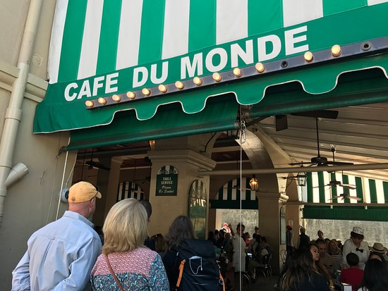 There S Your Sign Picture Of Cafe Du Monde New