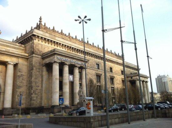 Centrum Warszawskiej Informacji Turystycznej Pałac Kultury i Nauki