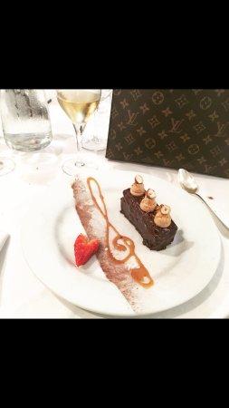 Nans-les-Pins, Frankrike: Brownie façon tristan