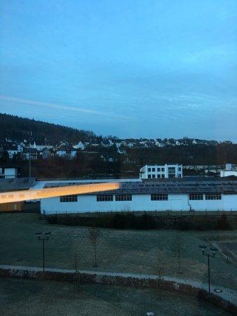 Attendorn, Almanya: Aussicht aus Doppelzimmer