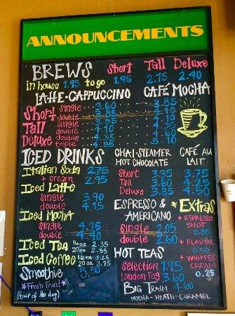I  Cafe Grand Forks Menu