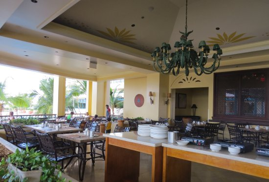 Lighthouse Terrace: The open section of the restaurant