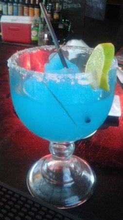 Kama Lounge & Bistro Bar: Ocean margarita.