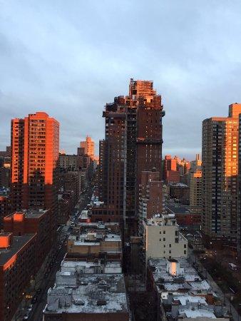 The Marmara Manhattan: ホテルからウエスト方向への眺め
