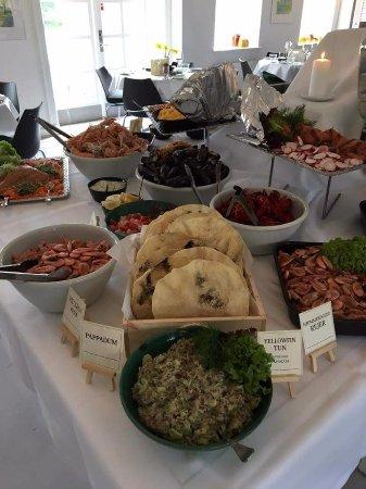 Hoersholm Municipality, Dinamarca: Fish buffet, fantastic