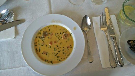 Hoersholm Municipality, Dinamarca: The best shellfish soup