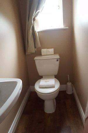 Robertstown, Irlanda: Newly painted WC