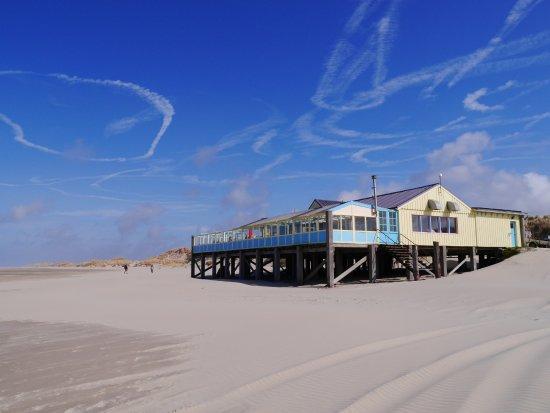 Oosterend, The Netherlands: Luchttekeningen bij Heartbreak Hotel