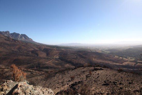 Western Cape, Sydafrika: Die Hügellandschaft nahe Ceres.