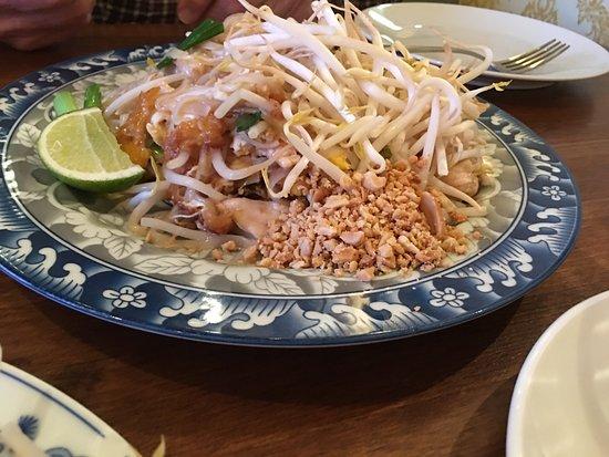 Westport, CT: Pad Thai with chicken
