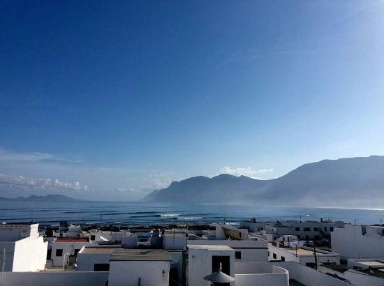 Caleta de Famara, Ισπανία: The start of a beautiful day in Lanzarote