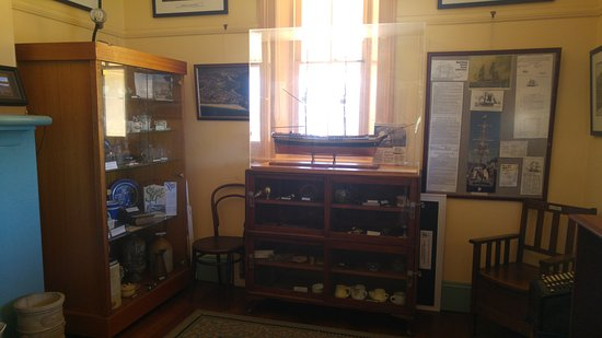 Nelson Bay, Australië: Inside the museum