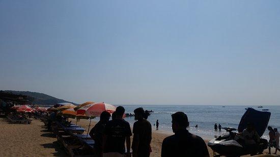 Anjuna Beach : Beach