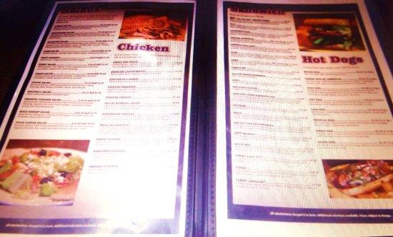 La Quinta, Califórnia: Varied menu