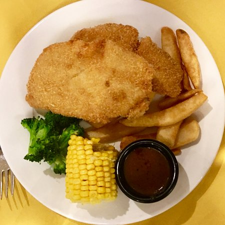 Fried fish chips picture of shashlik singapore for Fried fish restaurants
