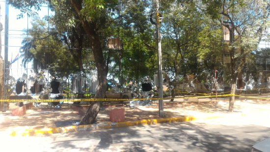 Legislative Palace (Palacio Legislativo): Apos os protestos contra a reeleição