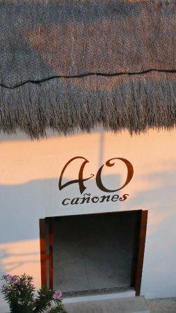 La Posada de los 40 Canones: Entrada al hotel