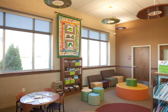 Mahomet Public Library children's area
