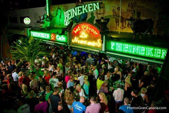 Tavoli E Sedie Heineken.Het Heineken Cafe Playa Del Ingles Ristorante Recensioni Foto