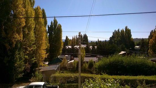 Hosteria Austral: vista da janela do quarto 4