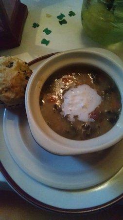 McMinnville, OR: Colcannon soup - St. Patricks menu