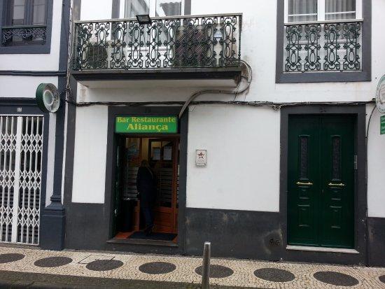 Bar Alianca: vista exterior