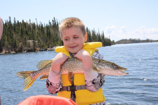 Flin Flon, Canadá: I Love Fishing!