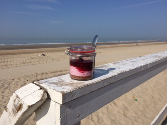 Wijk aan Zee, Holandia: Overheerlijke huisgemaakte cheesecake