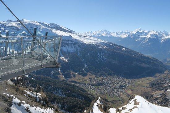 Klettersteig Leukerbad : Grosser klettersteig leukerbad via ferrata daubenhorn
