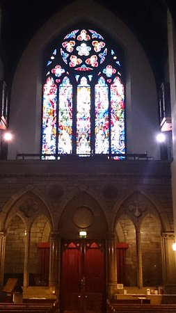 Inverness Cathedral: from the altar