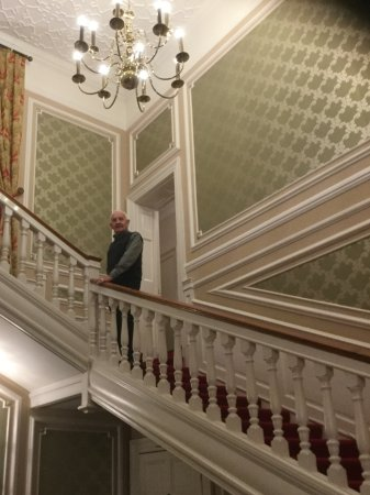 Newby Wiske, UK: On our way to the bedroom up beautiful staircase