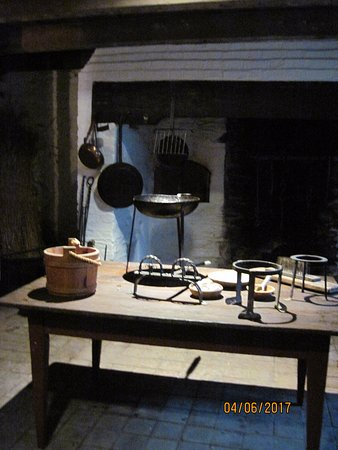 Bryn Mawr, PA: Kitchen at Harriton House where A Taste of History is filmed.