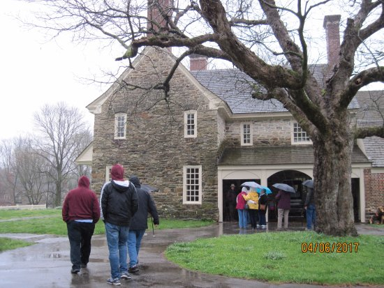 Bryn Mawr, PA: Exterior of Harriton House.