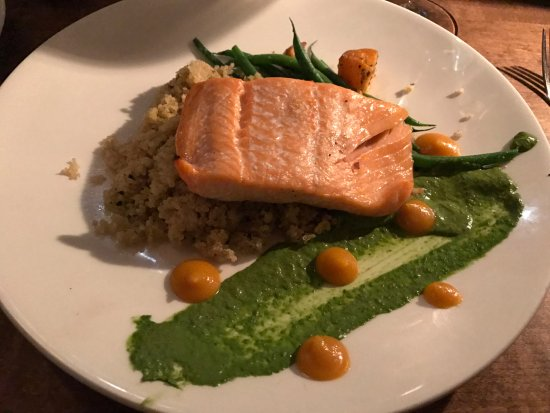 Chop Steakhouse & Bar: Slow Baked Salmon