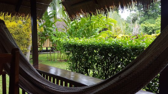 Coco Loco Lodge: Privacy between bungalows