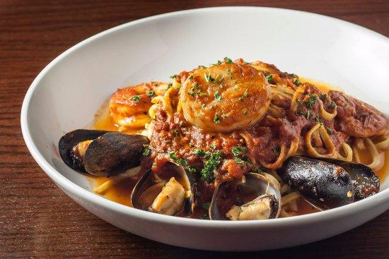 Plymouth, ميتشجان: Linguini Pescatore