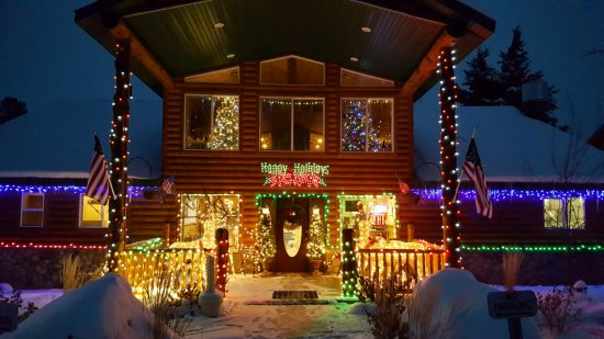 Island Park, ID: 1st Annual Lighting of the Lodge