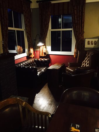 Draycott in the Clay, UK: The bar