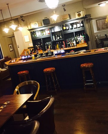 Draycott in the Clay, UK: The new look bar