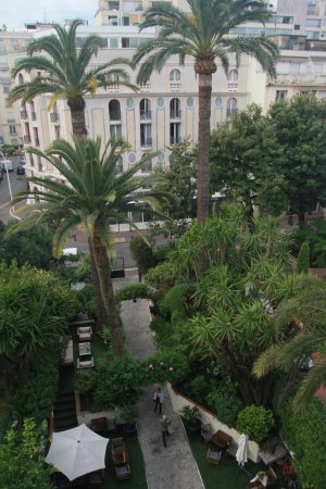 Hotel de Provence: view from 4th floor private balcony