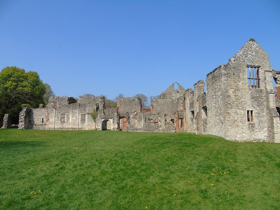 Netley Abbey: a larger view of the Church & Chapter House