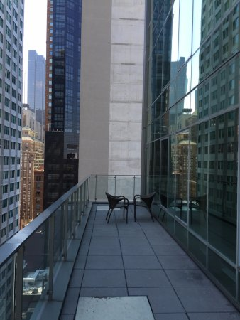 Balcony picture of west 57th street by hilton club new for Balcony new york