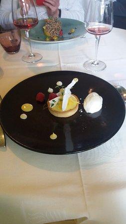 L'Hostellerie d'Acquigny : Tarte au citron