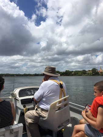 Winter Park, FL: Out on the lake with tour guide Don.